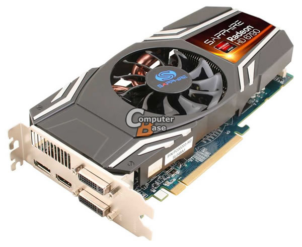 AMD Radeon HD 6790 For First Leaked thanks to the presence of Sapphire