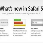 Apple Safari 5.0.5 for Windows