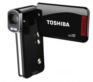 Toshiba Camileo P100 & the portable Camcorder for B10 Camileo Full HD Video Recording