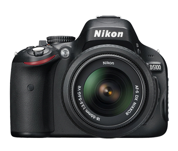The latest Nikon DSLR Camera D5100 16 .2MP Sensor, Full HD Video Recording