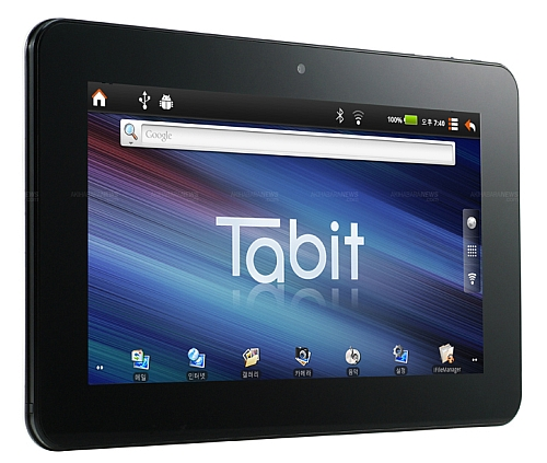 Android tablets with NVIDIA Tegra 2 Tabit from Trigem Korea