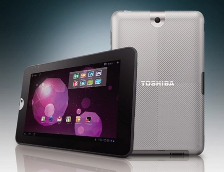 Toshiba Regza AT300 Android Tablet of Honeycomb with NVIDIA Tegra 2 officially announced
