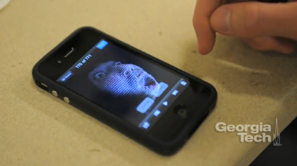 Makes QT Movies & GIF With a 3D Scanner Trimensional iPhone application