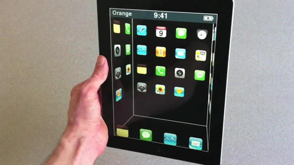 3D technology on the iPad 2