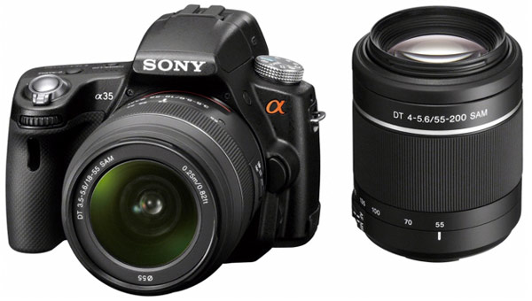 The Latest Sony Alpha DSLR A35