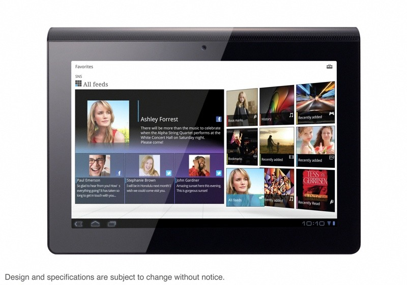 Sony S2 S1 Android Tablet Honeycomb Latest – Dual Screen for Sony S2