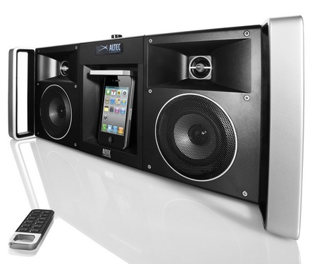 Altec Slim MIX BOOMBOX iMT810 Digital Boombox with Epic Bass & iPhone/iPod Dock
