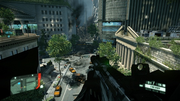 Review of Crysis 2, one of the best FPS games