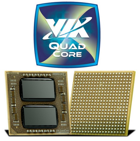 Via launched Latest Quad Core Processor