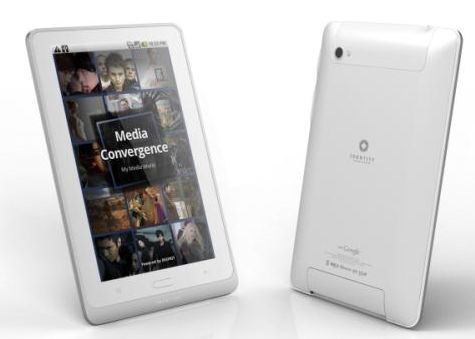 Enspert Identity Tab E401 Honeycomb Android Tablet from Korea