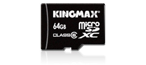 Memory card 64 GB of Kingmax microSDXC