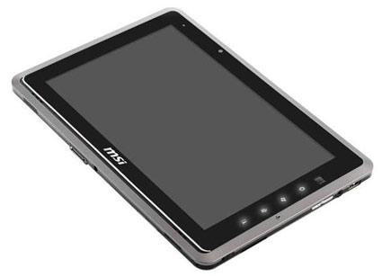 MSI WindPad 110W Tablet AMD Fusion with latest Windows 7 OS