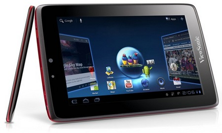ViewSonic ViewPad 7 x 7 inch Android Tablet Honeycomb by the NVIDIA Tegra 2