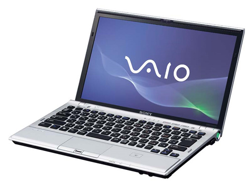 Sony Vaio Ultralight Notebook with latest Z21